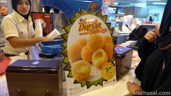 fried durian balls