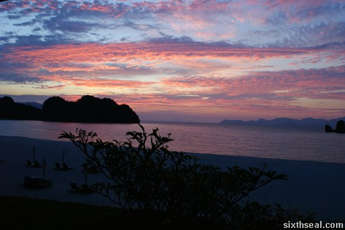 rhu sunset