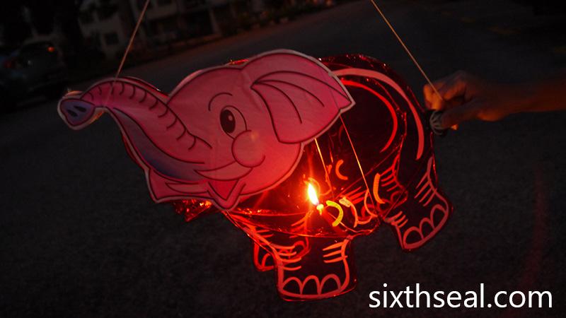 Elephant Lantern