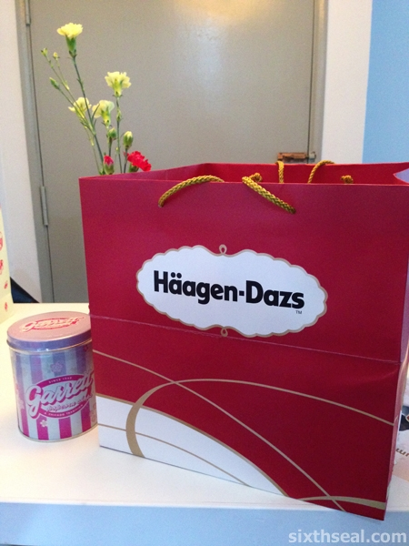 Haagen-Dazs Custom Ice Cream