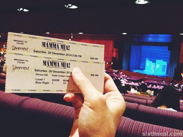 Mamma Mia Musical KL