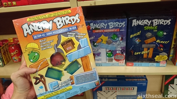 angry birds the board game