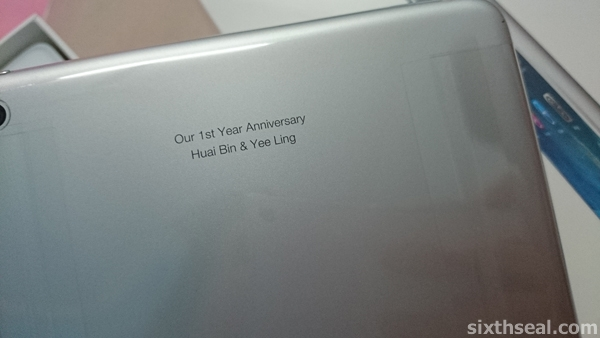 engraved ipad