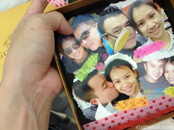 godiva photo frame