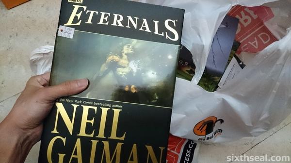 neil gaiman eternals