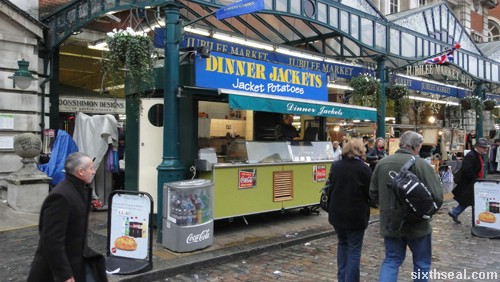 jacket potatoes stall