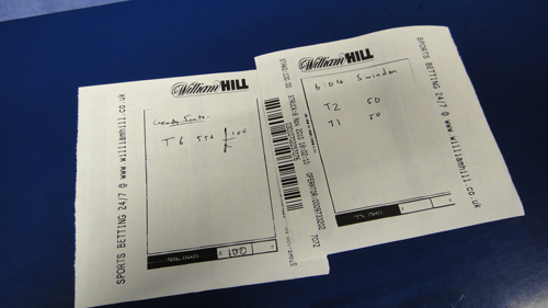 william hill betting slips