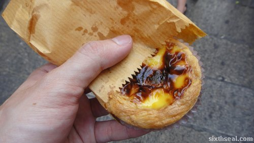 portuguese egg tarts macau