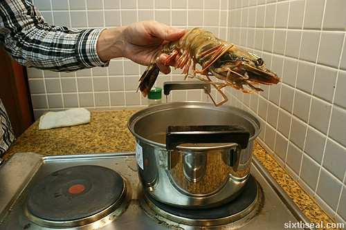 tiger prawn cook