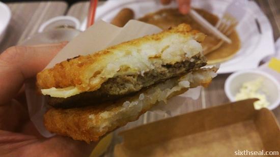 burger bun substitute