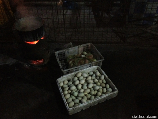 cooking balut