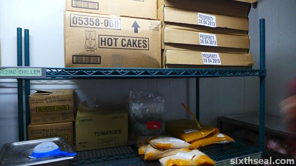 mcdonalds freezer