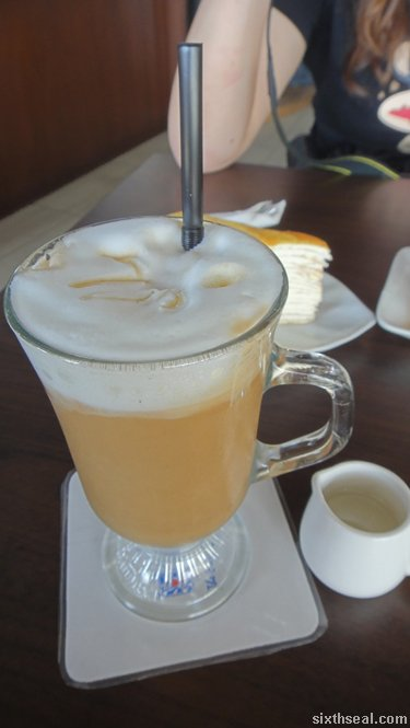 banana cafe latte