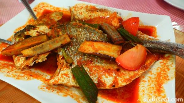 ikan tenggiri asam pedas