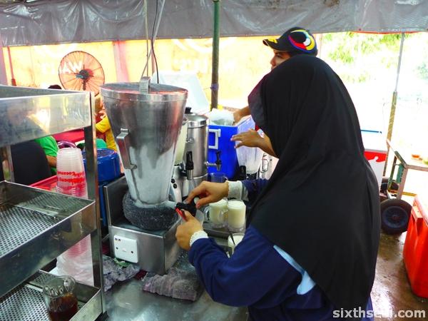 kelebang coconut shake