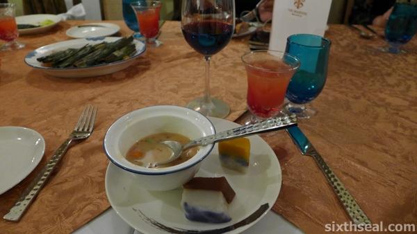 wine nyonya food