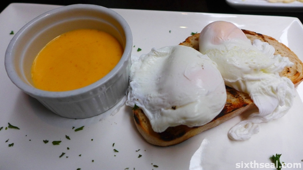 atlantic poached eggs