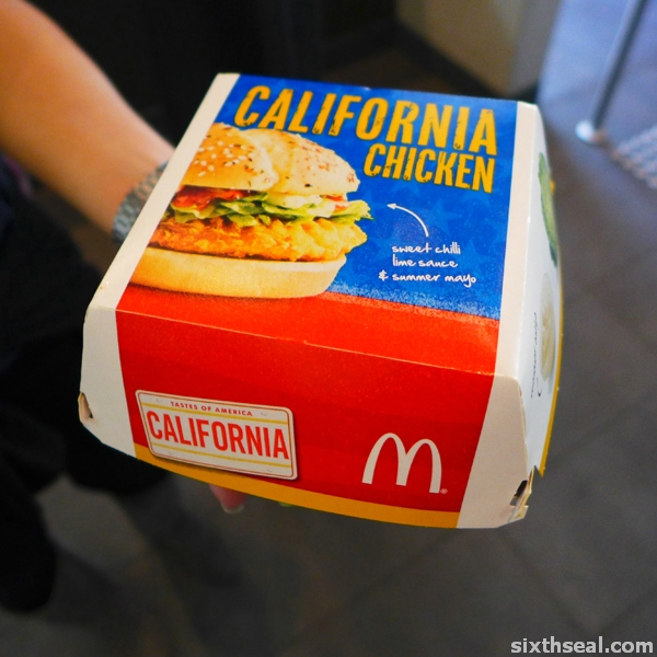 california chicken