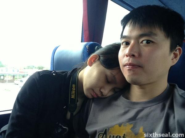 ling sleeping