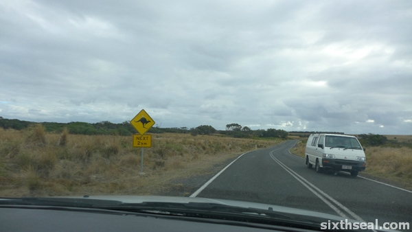 phillip island driving