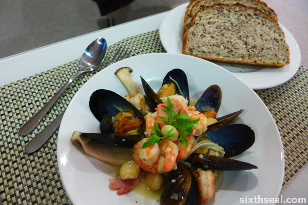 seafood bread