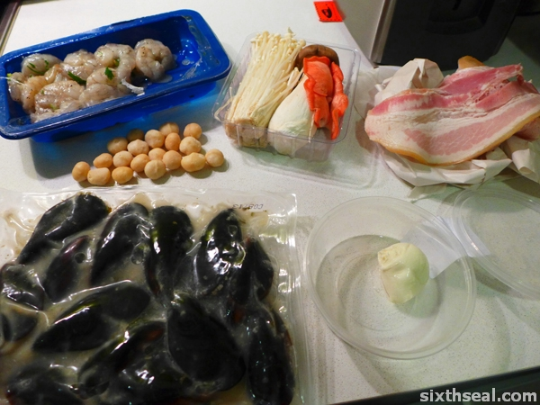 seafood ingredients