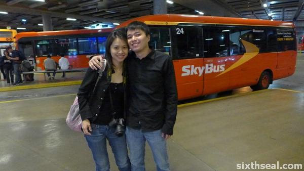 skybus hotel transfer