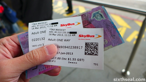 skybus tickets