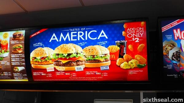 tastes of america