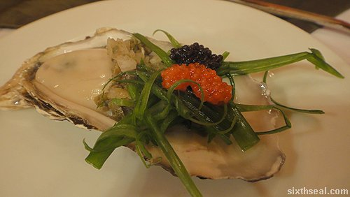 oyster lumpfish caviar