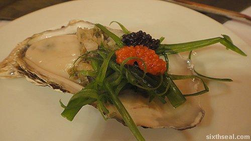 oyster lumpfish caviar