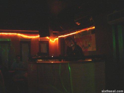 balcony dj