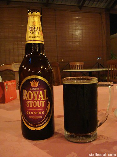 danish royal stout ginseng
