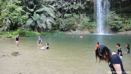 latak falls pool