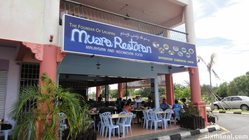 muara restauran nasi lalapan
