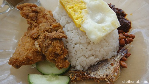 nasi lemak regular