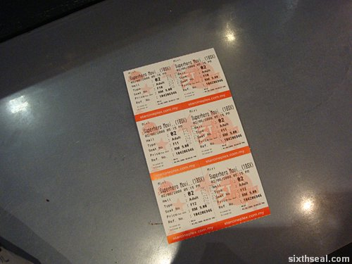 superhero movie tix
