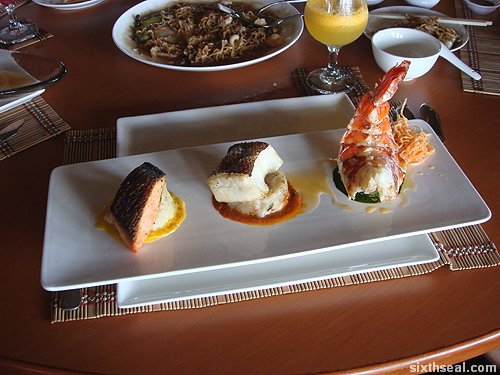 trio seafood