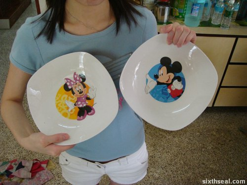 matching plates