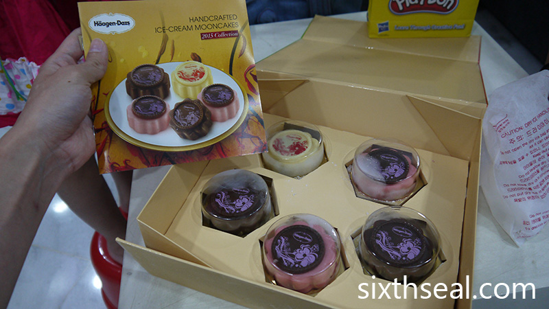 Handcrafted Ice Cream Mooncakes