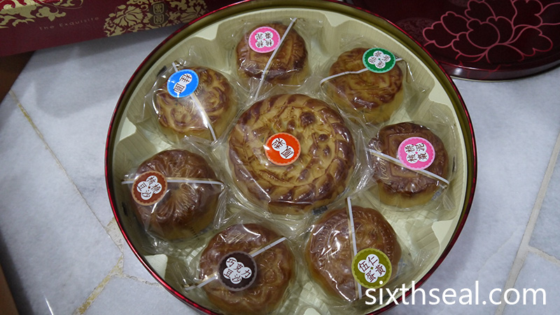Pineapple Mooncakes