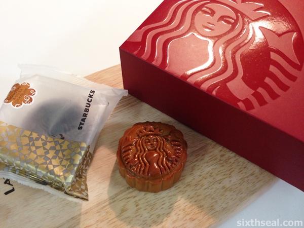 Starbucks Signature Banana Chocolate Mooncake