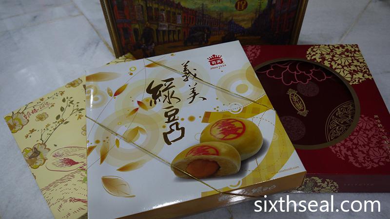 Taiwanese Savory Mooncake