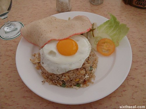 melanau fried rice