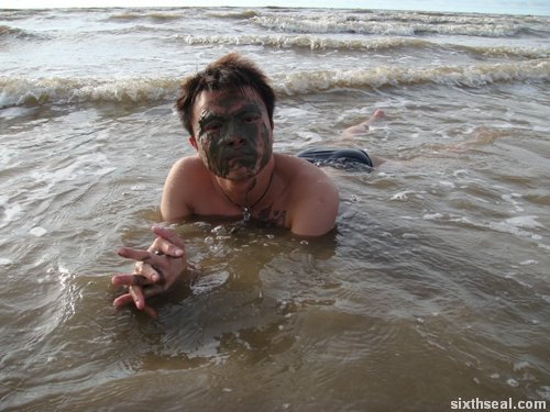 mud mask