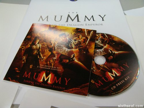 mummy 3 press kit