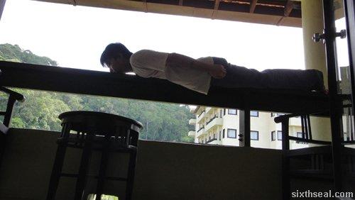 balcony planking