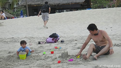 sandcastles