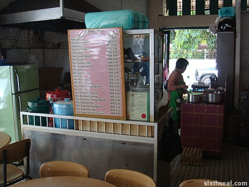 muslim stall