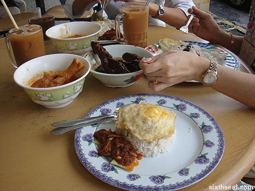 nasi lemak special